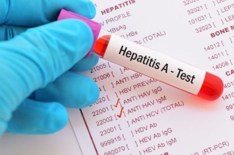 Гепатит в анализ